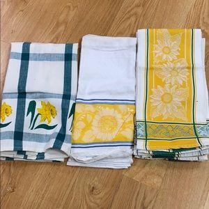 7 Egyptian cotton dish cloths